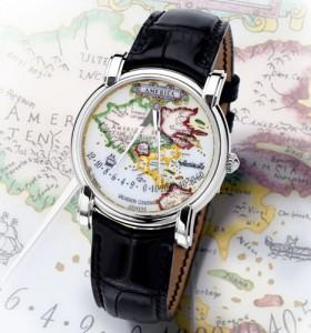 Hommage à un géographe nommé Mercator, illustrée par une montre hors du commun : Vacheron Constantin America dans Générale vacheronconstantinmercatoramerica-280x300